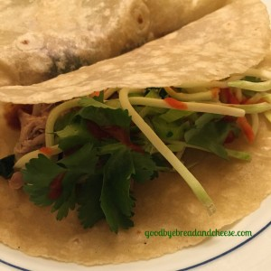 My Blogging Mojo and Simple Asian Tacos