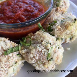 Chicken Zucchini Meatballs (gluten/dairy/egg free)